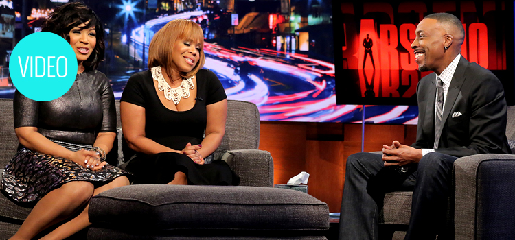 Tina Campbell Arsenio Hall