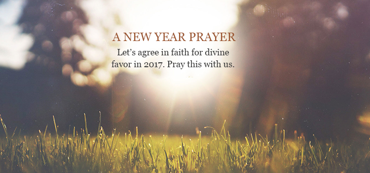 Happy New Year: A special prayer for 2017